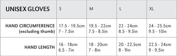 Montane Gloves Size Guide
