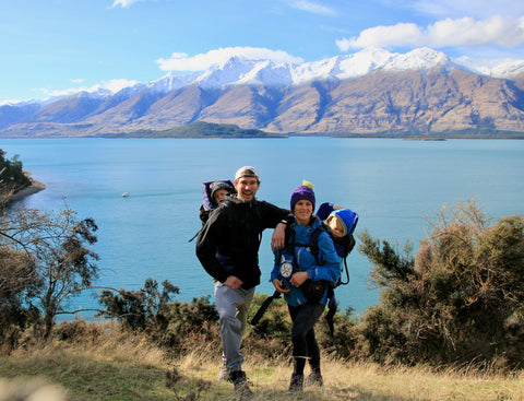 Hiking with babies in New Zealand
