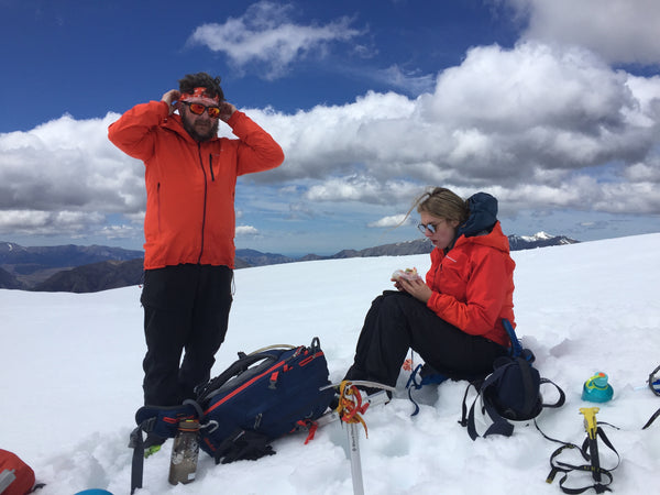 rocky and jo refreshing the winter skills in nz