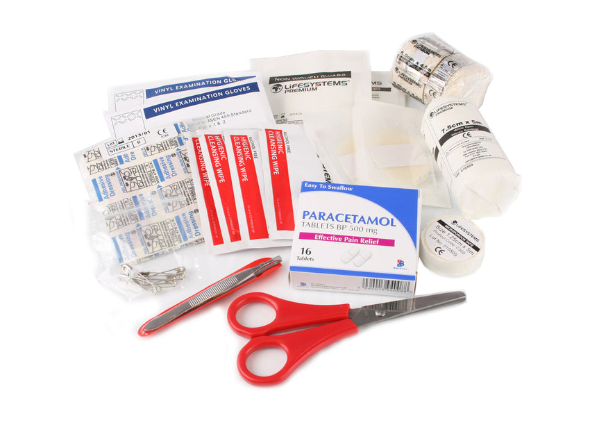 Lifesystems Trek First Aid Kit contents