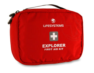 First Aid Kit for outdoor trips and overseas travel.