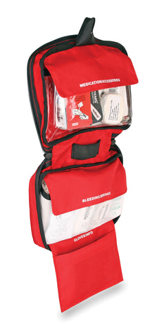 Lifesystems Explorer First Aid Kit organised compartments