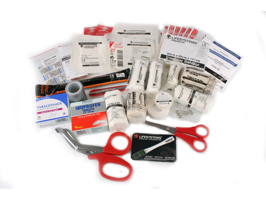 Lifesystems Mountain First Aid kit contents