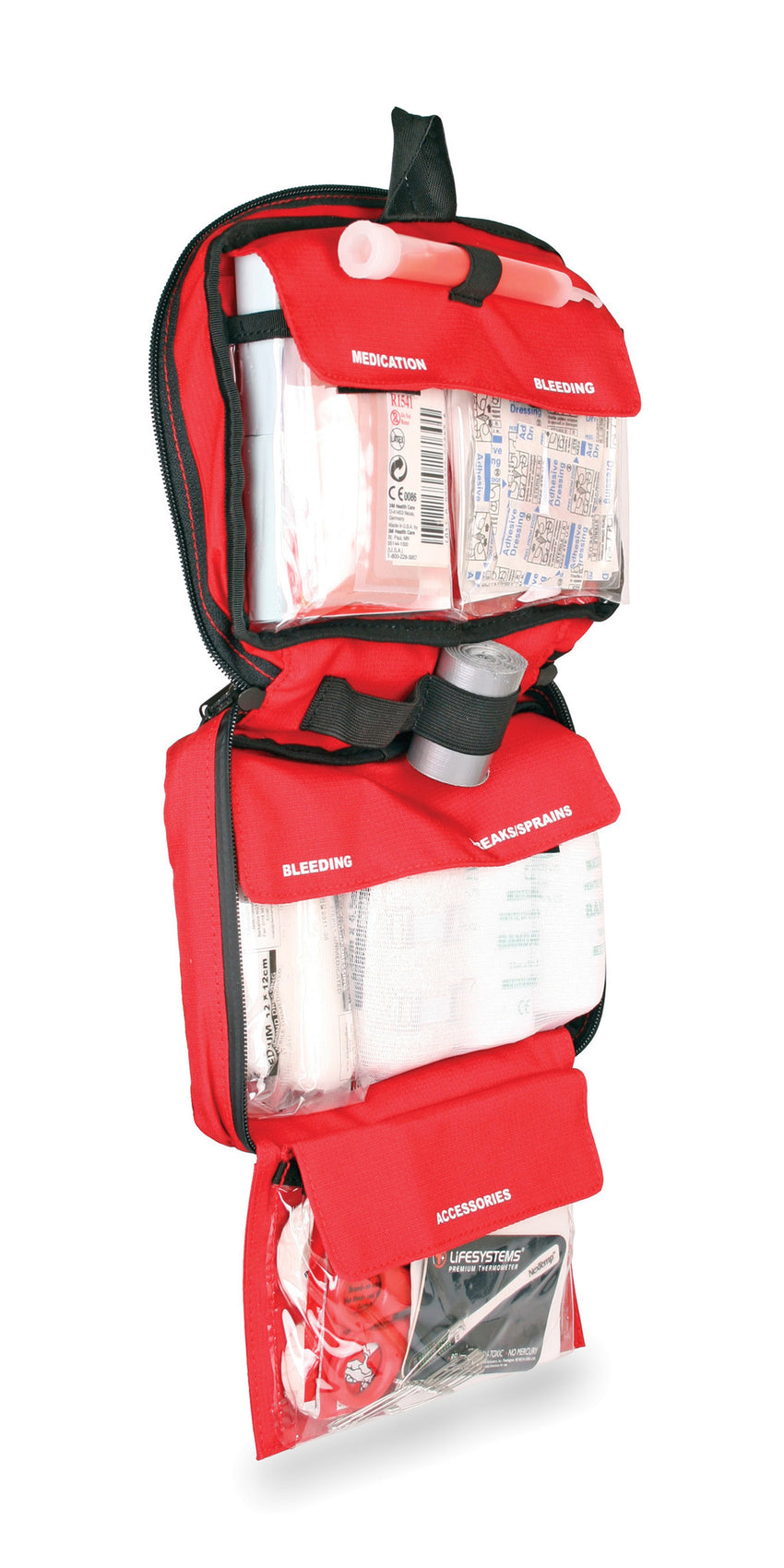 Lifesystems Mountain First Aid kit organisation
