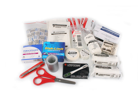 Lifesystems Traveller First Aid Kit contents