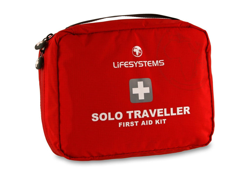 Lifesystems Solo Traveller First Aid Kit | Outdoor and Travel Kit | NZ