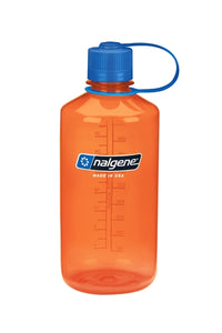 Nalgene Tritan Narrow Mouth 1000ml | Hiking Water Bottles | NZ Orange