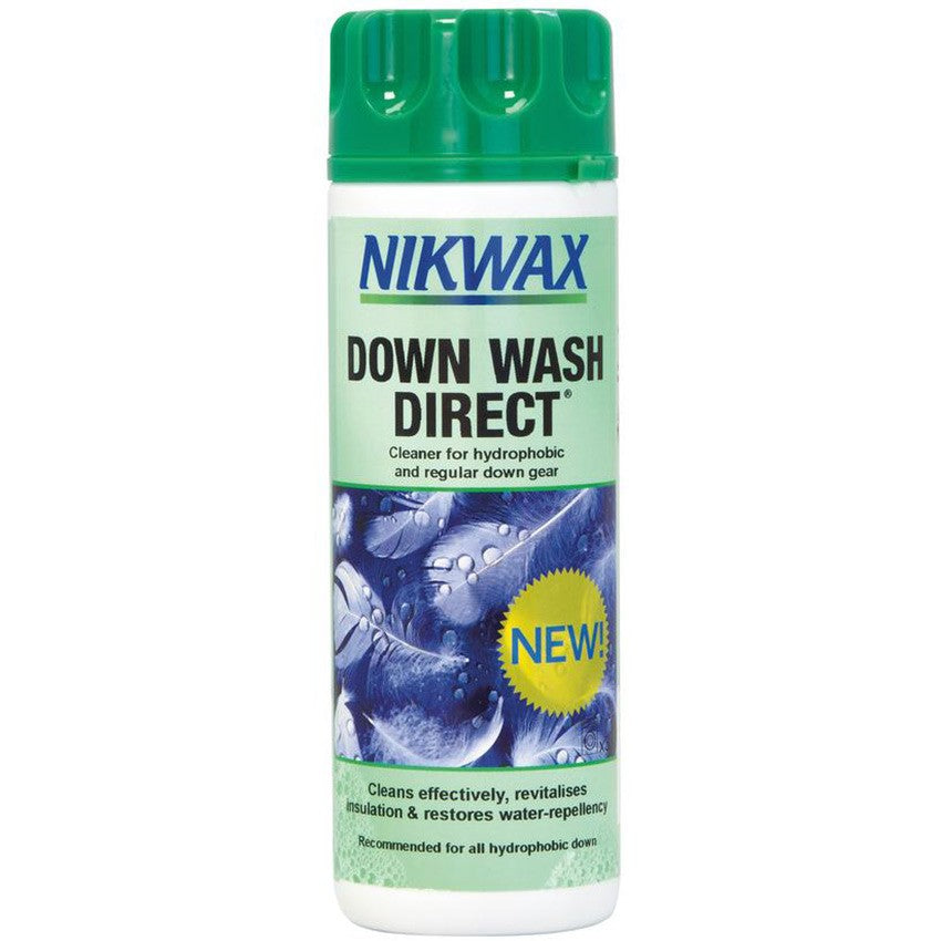 Nikwax Down Wash Direct - 300ml | Nikwax for Down Equipment & Clothing