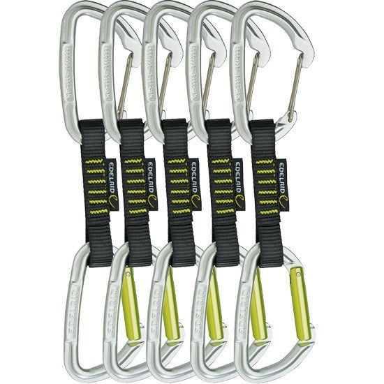 Edelrid Slash Wire Quickdraw Set | Climbing Quickdraw & Carabiners NZ
