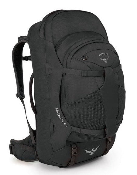 Osprey Farpoint 55 | Osprey NZ | Hiking, Travel and Day Packs