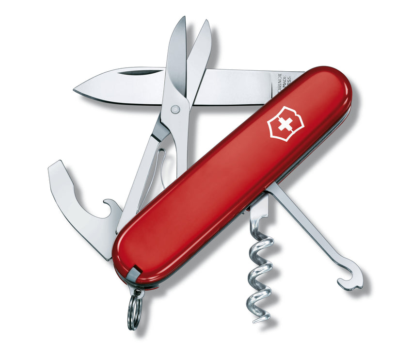 Victorinox Compact Knife | Swiss Army Camping and Outdoor Knife | NZ