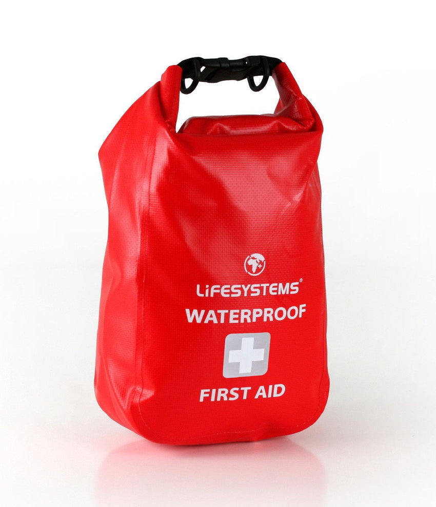 Lifesystems Waterproof First Aid Kit in dry bag
