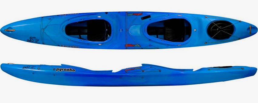 Pyranha Fusion Duo | Whitewater Kayaking | Double Kayak | NZ Blue Crush