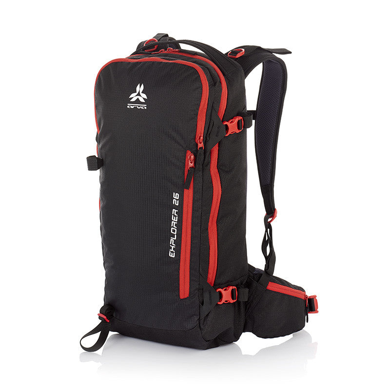 Arva Explorer 26 Pack | Ski-Touring & Alpine Pack | NZ Black