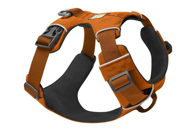 Ruffwear Front Range Harness | Ruffwear NZ | Hiking and Running Dog Harness - Campfire Orange