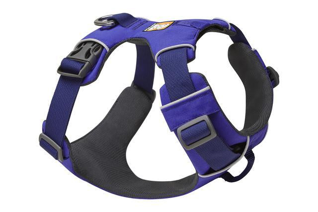 Ruffwear Front Range Harness | Ruffwear NZ | Hiking and Running Dog Harness - Huckleberry Blue