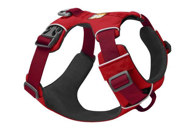 Ruffwear Front Range Harness | Ruffwear NZ | Hiking and Running Dog Harness - Red Sumac