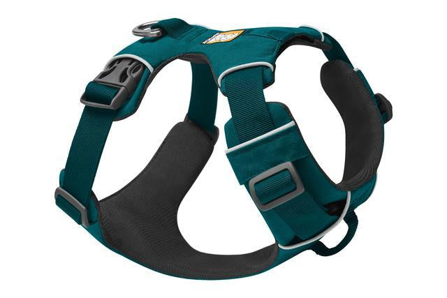 Ruffwear Front Range Harness | Ruffwear NZ | Hiking and Running Dog Harness - Tumalo Teal