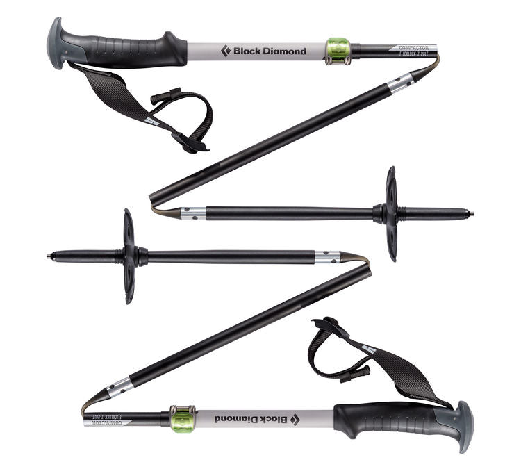 Black Diamond Compactor Ski Poles | Alpine and Trekking Poles | NZ