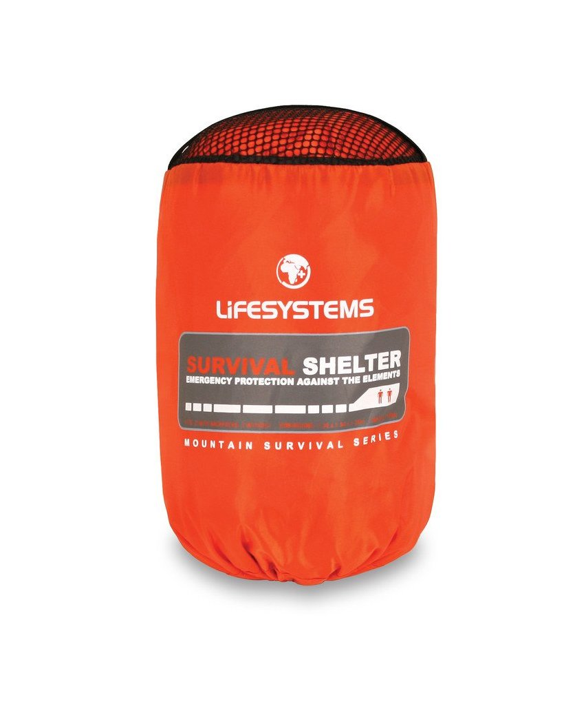 Lifesystems Survival Shelter 2 Person | Safety Gear For Tramping | NZ