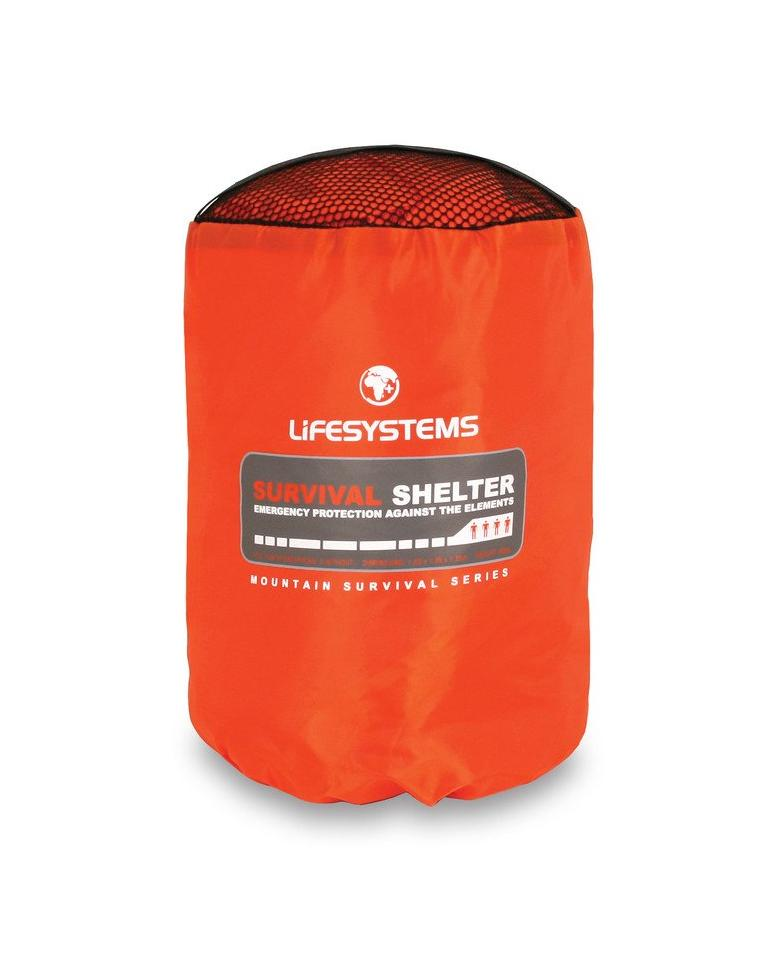 Lifesystems Survival Shelter 4 Person | Survival Bags and Gear | NZ