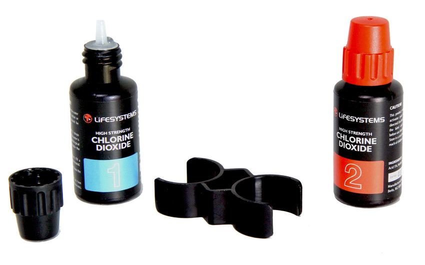Lifesystems Chlorine Dioxide Bottle Set