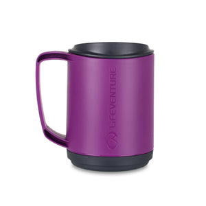 Lifeventure Ellipse Insulated Mug Purple