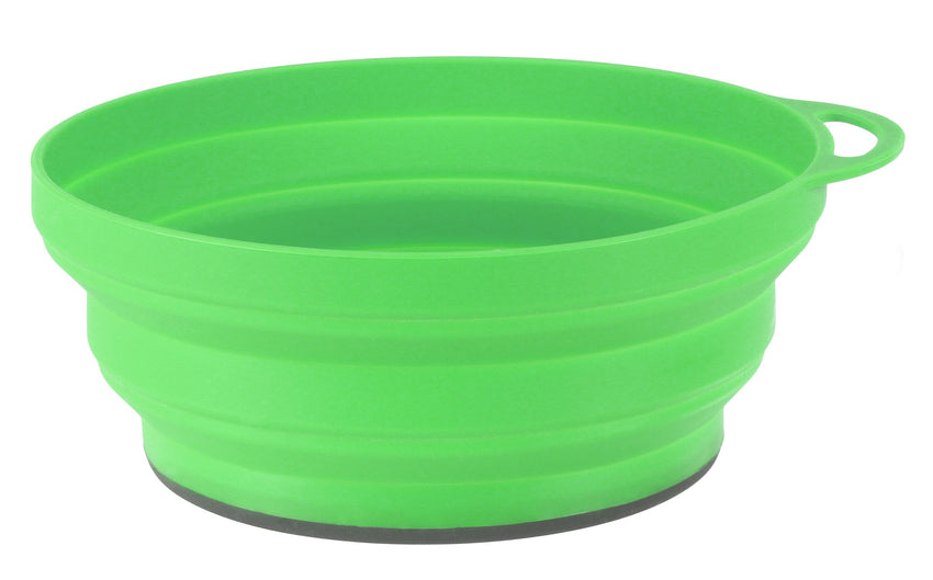 LifeLifeventure Silicone Bowl | Collapsable Camping Cookware | NZl Green
