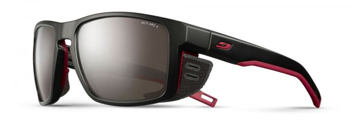 Julbo Shield Black / Red Altitude Arc 4 Lens | Outdoor Sunglasses | NZ