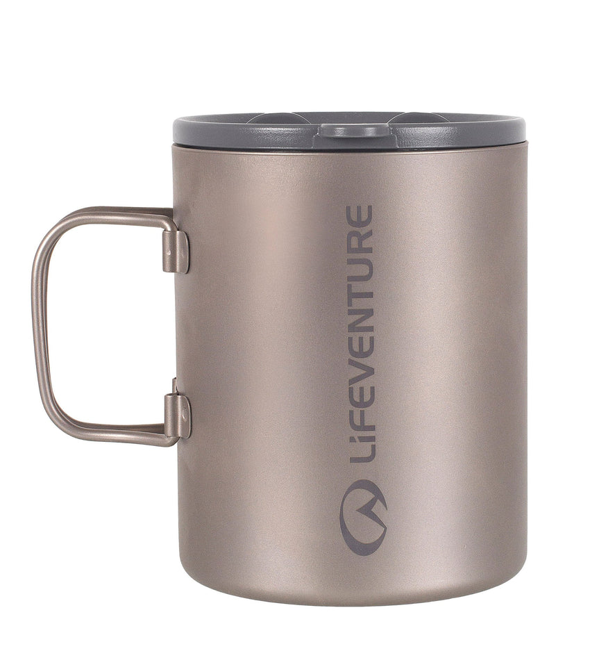 Lifeventure Titanium Double Walled Mug