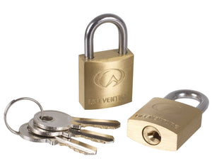 Lifeventure 20mm Brass Padlocks | Travel and Luggage Locks | NZ