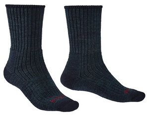 Bridgedale Merino Midweight Hike Socks - Comfort Boot Length