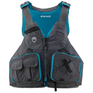 NRS Shenook Womens Fishing PFD  | Womens Kayak Life Jacket NZ | NRS NZ | Further Faster NZ