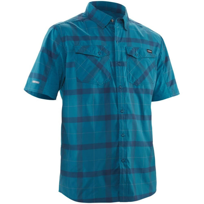 NRS Men's Short-Sleeve Guide Shirt | NRS NZ Men's Paddle Clothing NZ | Further Faster NZ
