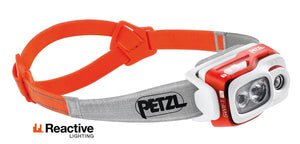 Petzl Swift RL | Petzl NZ | Rechargeable Headlamp