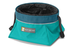 Ruffwear Quencher Cinch | Dog Water Bowl | Hiking Gear | Ruffwear NZ Teal
