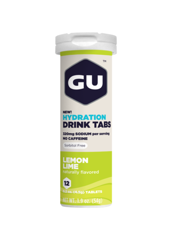 Gu Hydration Drink Tablets | Sports Nutrition and Electrolytes | NZ Lemon Lime