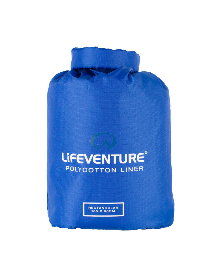 Life Venture Polycotton Liner - Rectangular Shape | Sleeping Bag Liner