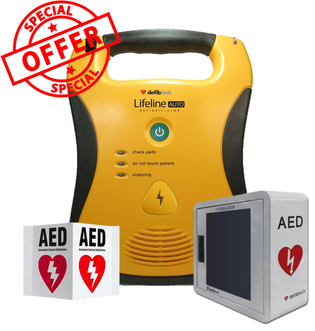 Defibtech Fully Automatic Defibrillator AED