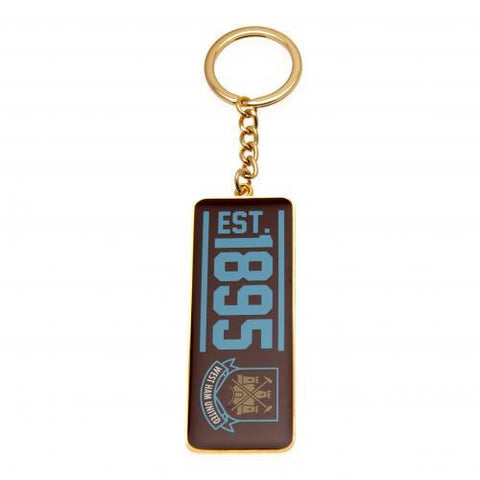West Ham United FC Keyring EST