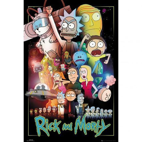 Rick And Morty Poster Wars 245