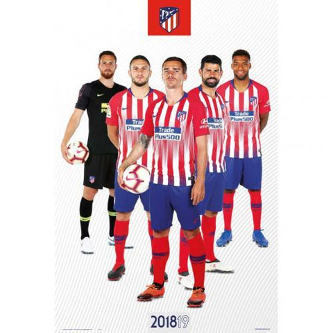 Atletico Madrid FC Poster Players 65