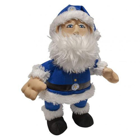 Leicester City FC Plush Santa