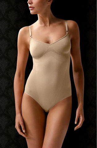 Control Body 510194 Co Cotton Bodysuit Nude Shapewear | AYNAYA Women's Lingerie