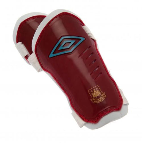 West Ham United FC Umbro Shin Pads XS