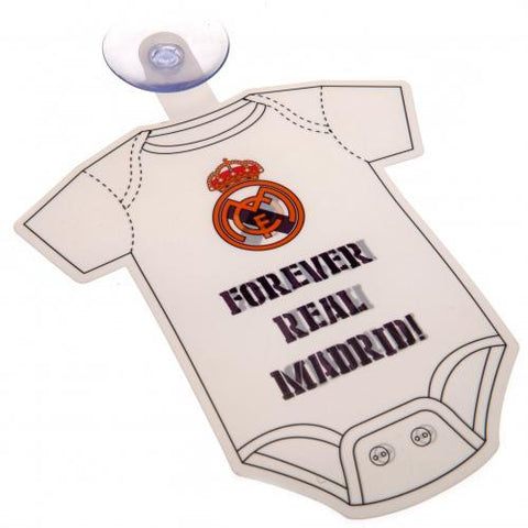Real Madrid FC Baby On Board Sign