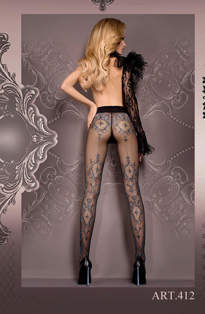 Delicate Tights Grey Women Tights | AYNAYA Women's Lingerie