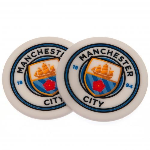 Manchester City FC 2pk Coaster Set