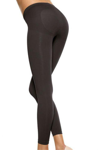 Firm Shaping Leggings High Compression Tummy Control Push Up Effect Anti-Bacterial Gusset And Micro Massage Leggings Tights Shapewear | AYNAYA Women's Lingerie