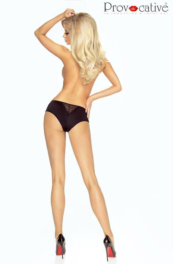 Flirty Sexy Shorty Black Women Briefs | AYNAYA Women's Lingerie